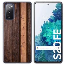 Funda Gel Tpu para Samsung Galaxy S20 FE diseño Madera 05 Dibujos