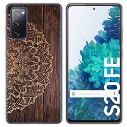 Funda Gel Tpu para Samsung Galaxy S20 FE diseño Madera 06 Dibujos