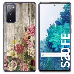 Funda Gel Tpu para Samsung Galaxy S20 FE diseño Madera 08 Dibujos