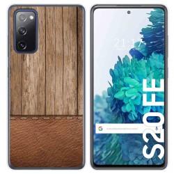 Funda Gel Tpu para Samsung Galaxy S20 FE diseño Madera 09 Dibujos