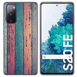 Funda Gel Tpu para Samsung Galaxy S20 FE diseño Madera 10 Dibujos
