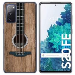 Funda Gel Tpu para Samsung Galaxy S20 FE diseño Madera 11 Dibujos