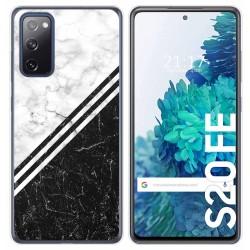 Funda Gel Tpu para Samsung Galaxy S20 FE diseño Mármol 01 Dibujos