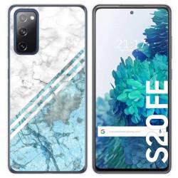 Funda Gel Tpu para Samsung Galaxy S20 FE diseño Mármol 02 Dibujos