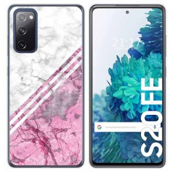 Funda Gel Tpu para Samsung Galaxy S20 FE diseño Mármol 03 Dibujos