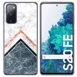 Funda Gel Tpu para Samsung Galaxy S20 FE diseño Mármol 05 Dibujos
