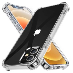 Funda Gel Tpu Anti-Shock Transparente para Iphone 12 / 12 Pro (6.1)