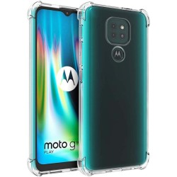 Funda Gel Tpu Anti-Shock Transparente para Motorola Moto G9 / G9 Play