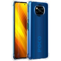 Funda Gel Tpu Anti-Shock Transparente para Xiaomi POCO X3 NFC / X3 PRO