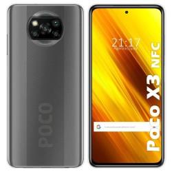 Funda Silicona Gel TPU Transparente para Xiaomi POCO X3 NFC / X3 PRO