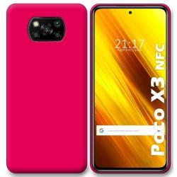 Funda Silicona Gel TPU Rosa para Xiaomi POCO X3 NFC / X3 PRO