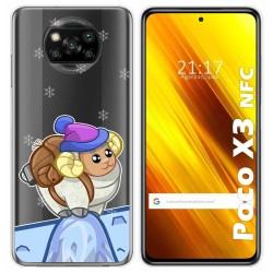 Funda Gel Transparente para Xiaomi POCO X3 NFC / X3 PRO diseño Cabra Dibujos