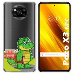 Funda Gel Transparente para Xiaomi POCO X3 NFC / X3 PRO diseño Coco Dibujos
