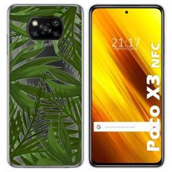 Funda Gel Transparente para Xiaomi POCO X3 NFC diseño Jungla Dibujos