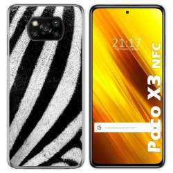 Funda Gel Tpu para Xiaomi POCO X3 NFC diseño Animal 02 Dibujos