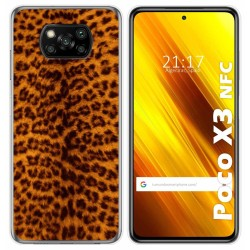 Funda Gel Tpu para Xiaomi POCO X3 NFC diseño Animal 03 Dibujos