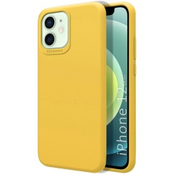 Funda Silicona Líquida Ultra Suave para Iphone 12 Mini (5.4) color Amarilla