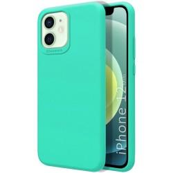 Funda Silicona Líquida Ultra Suave para Iphone 12 Mini (5.4) color Verde