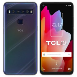 Funda Silicona Gel TPU Transparente para TCL 10L