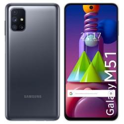 Funda Silicona Gel TPU Transparente para Samsung Galaxy M51