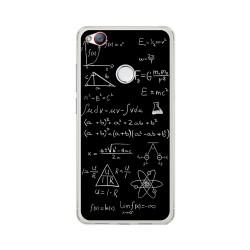 Funda Gel Tpu para Zte Nubia Z11 Mini S Diseño Formulas Dibujos