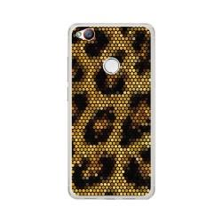Funda Gel Tpu para Zte Nubia Z11 Mini S Diseño Leopardo Dibujos