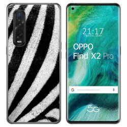 Funda Gel Tpu para Oppo Find X2 Pro diseño Animal 02 Dibujos