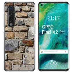 Funda Gel Tpu para Oppo Find X2 Pro diseño Ladrillo 03 Dibujos