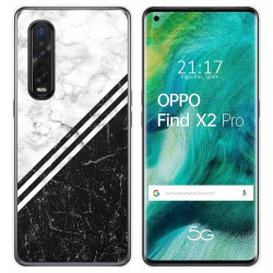 Funda Gel Tpu para Oppo Find X2 Pro diseño Mármol 01 Dibujos