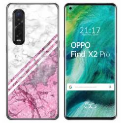 Funda Gel Tpu para Oppo Find X2 Pro diseño Mármol 03 Dibujos