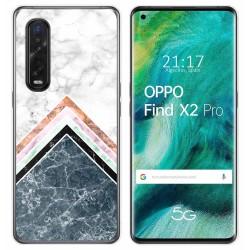 Funda Gel Tpu para Oppo Find X2 Pro diseño Mármol 05 Dibujos