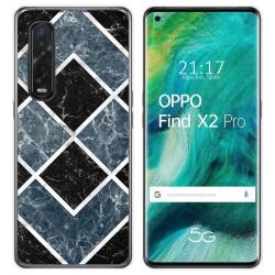 Funda Gel Tpu para Oppo Find X2 Pro diseño Mármol 06 Dibujos