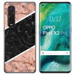 Funda Gel Tpu para Oppo Find X2 Pro diseño Mármol 07 Dibujos
