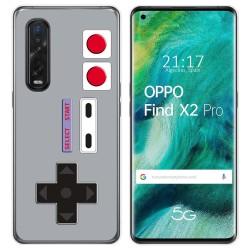 Funda Gel Tpu para Oppo Find X2 Pro diseño Consola Dibujos