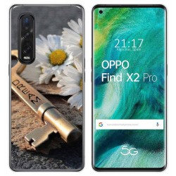 Funda Gel Tpu para Oppo Find X2 Pro diseño Dream Dibujos