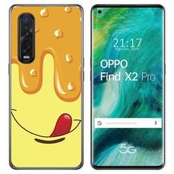 Funda Gel Tpu para Oppo Find X2 Pro diseño Helado Vainilla Dibujos