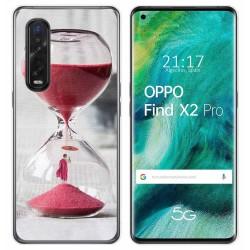 Funda Gel Tpu para Oppo Find X2 Pro diseño Reloj Dibujos