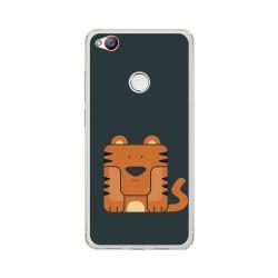 Funda Gel Tpu para Zte Nubia Z11 Mini S Diseño Tigre Dibujos