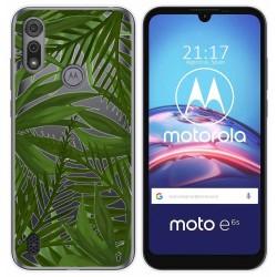 Funda Gel Transparente para Motorola Moto e6s diseño Jungla Dibujos