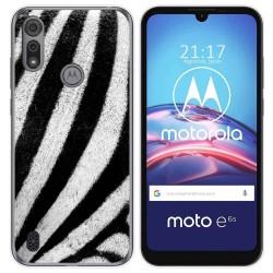 Funda Gel Tpu para Motorola Moto e6s diseño Animal 02 Dibujos