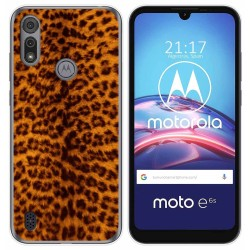 Funda Gel Tpu para Motorola Moto e6s diseño Animal 03 Dibujos