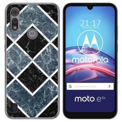 Funda Gel Tpu para Motorola Moto e6s diseño Mármol 06 Dibujos