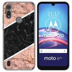 Funda Gel Tpu para Motorola Moto e6s diseño Mármol 07 Dibujos