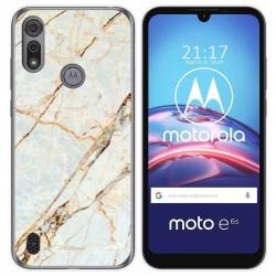 Funda Gel Tpu para Motorola Moto e6s diseño Mármol 13 Dibujos