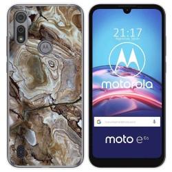 Funda Gel Tpu para Motorola Moto e6s diseño Mármol 14 Dibujos