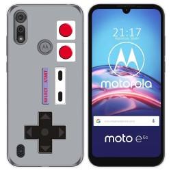Funda Gel Tpu para Motorola Moto e6s diseño Consola Dibujos
