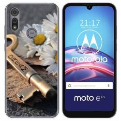 Funda Gel Tpu para Motorola Moto e6s diseño Dream Dibujos