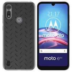 Funda Gel Tpu para Motorola Moto e6s diseño Metal Dibujos