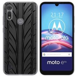 Funda Gel Tpu para Motorola Moto e6s diseño Neumatico Dibujos