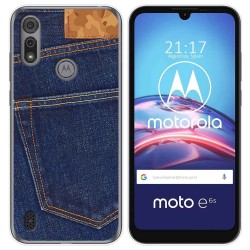 Funda Gel Tpu para Motorola Moto e6s diseño Vaquero Dibujos